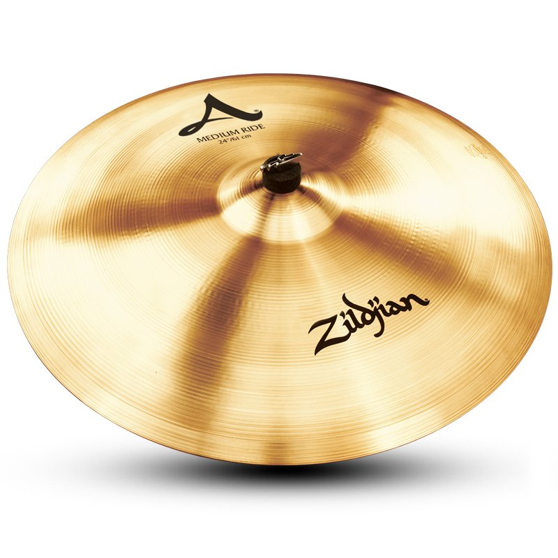 "24"" A Zildjian Medium Ride Cymbal"