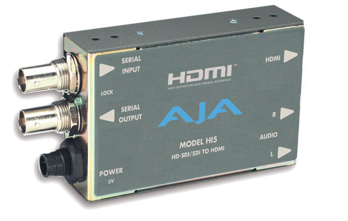 HD-SDI/SDI to HDMI Video and Audio Mini Converter with Power Supply