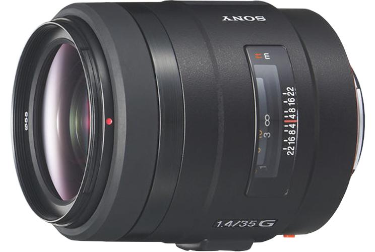 Sony SAL35F14G 35mm F1.4 Wide Angle Lens SAL35F14G