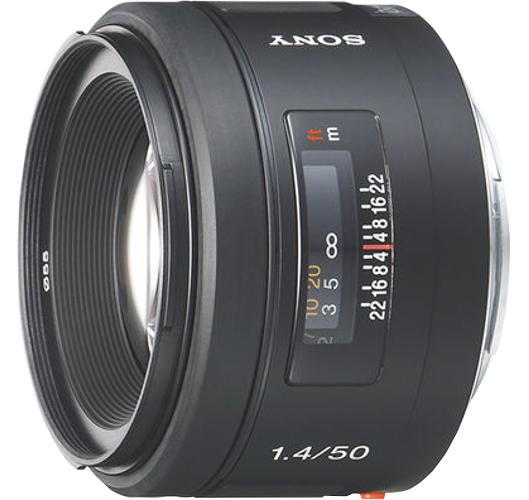 Sony SAL50F14 50mm, F1.4 Lens SAL50F14