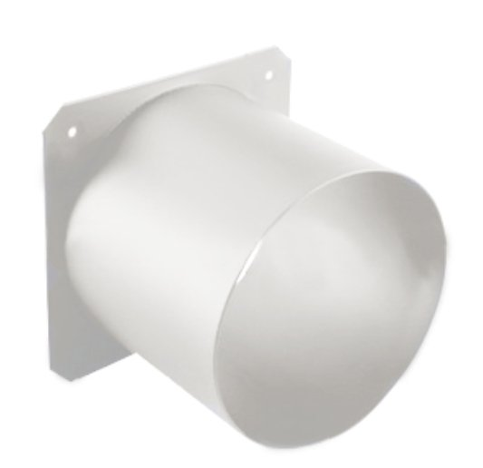 """3"""" Top Hat Tube for Source Four Par Fixture in White"""