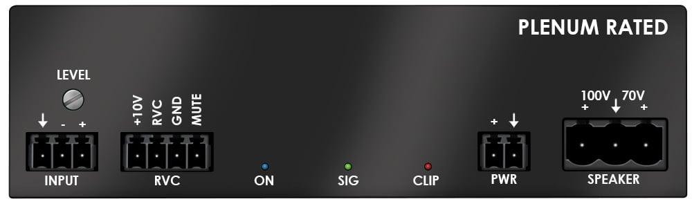 Stewart Audio CVA-50-1 [RESTOCK ITEM] 50 Watt Mono Amplifier, 70V or 100V CVA-50-1-RST-02