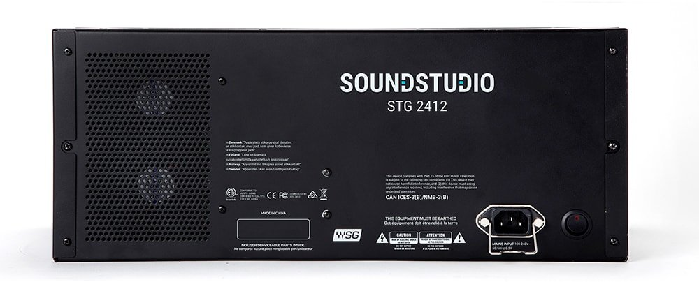 Digital Audio Stagebox with SoundGrid