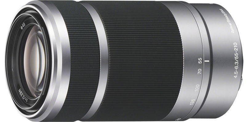 55-210mm  f/4.5 - 6.3 Telephoto Zoom Lens