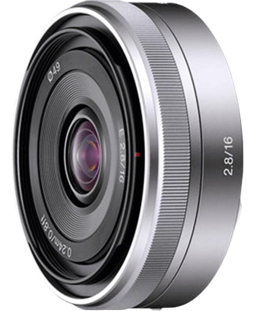 E-Mount 16mm F2.8 Fixed Lens