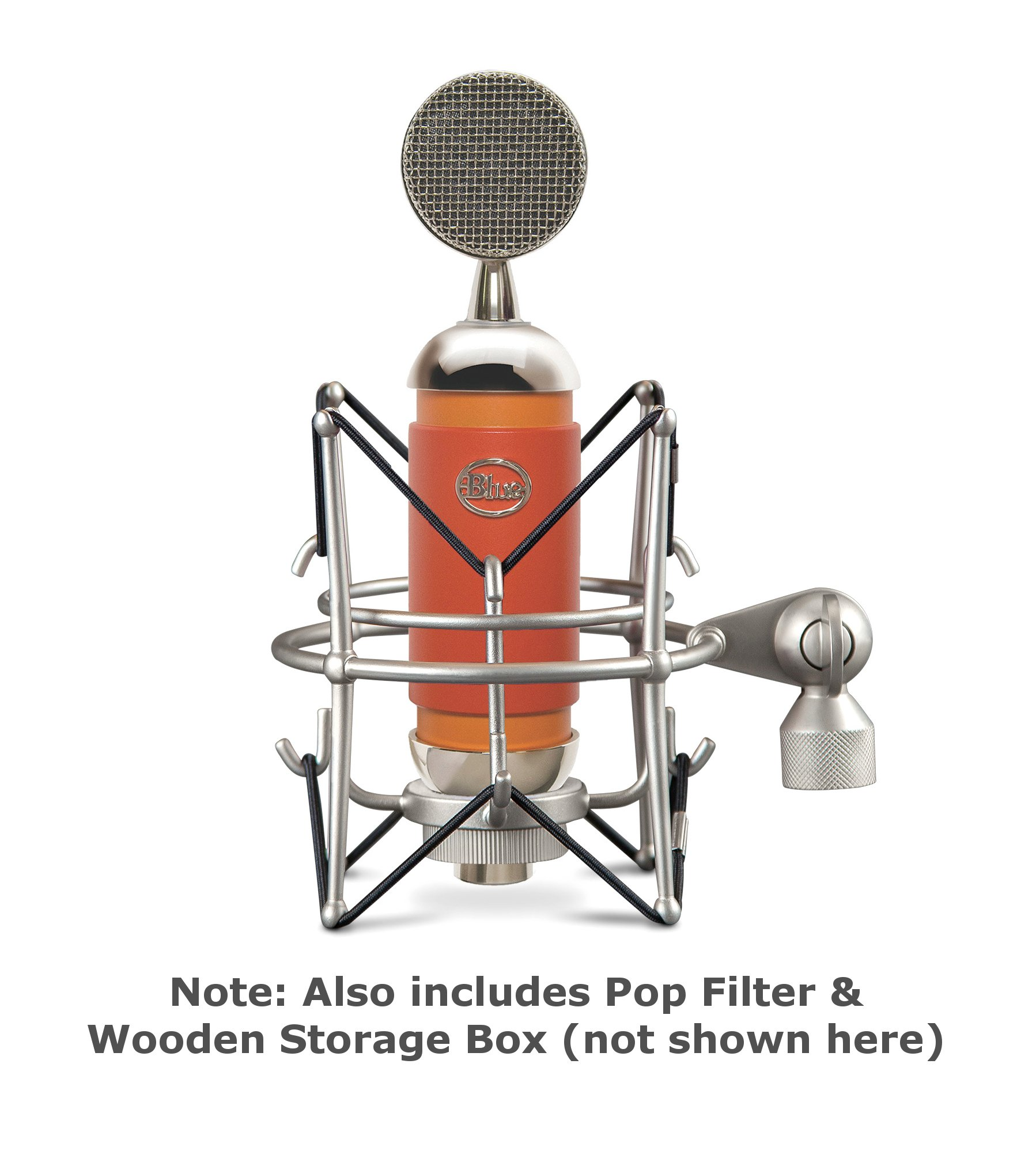 Cardioid Condenser Microphone with Focus Control