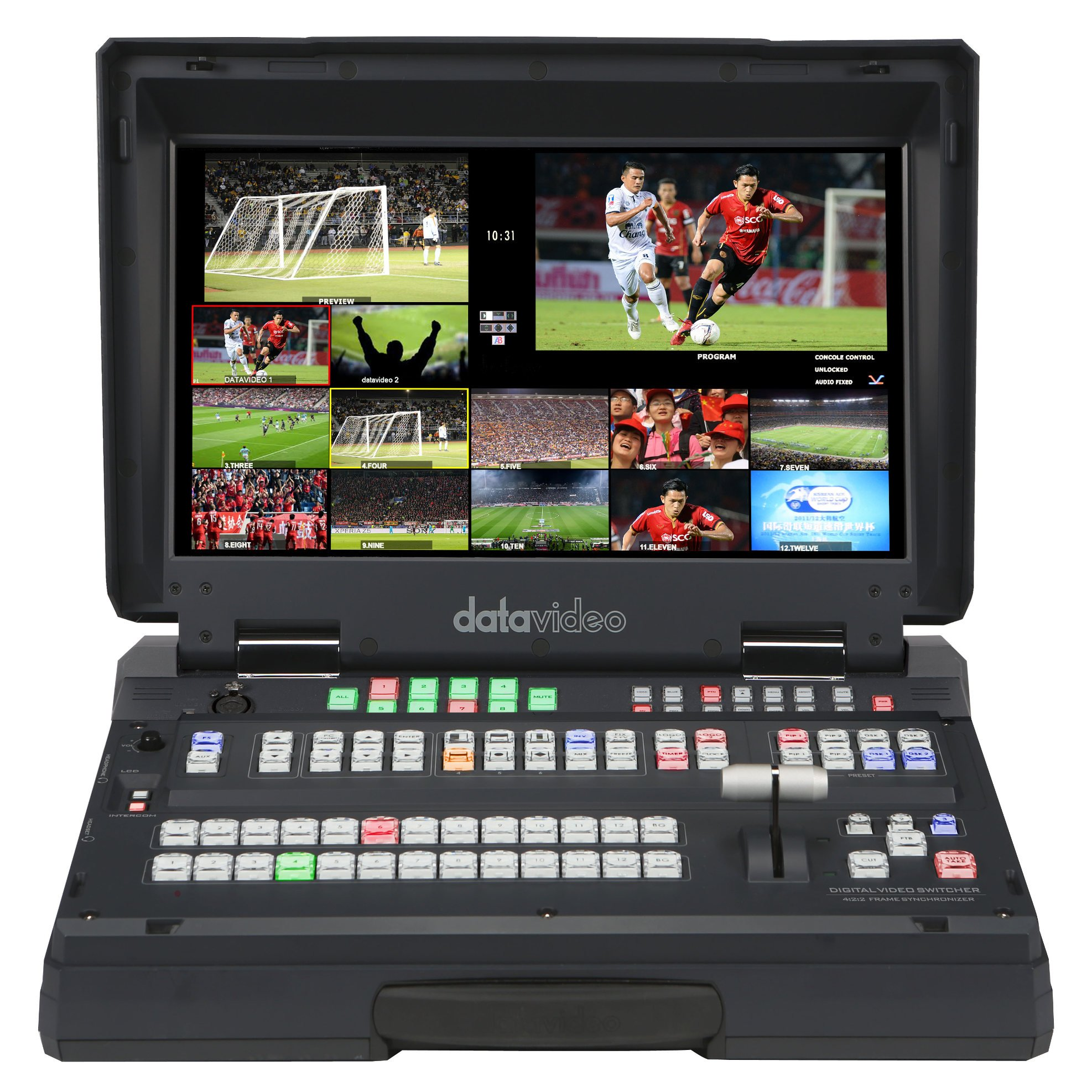 HD/SD 12-Channel Portable Video Studio