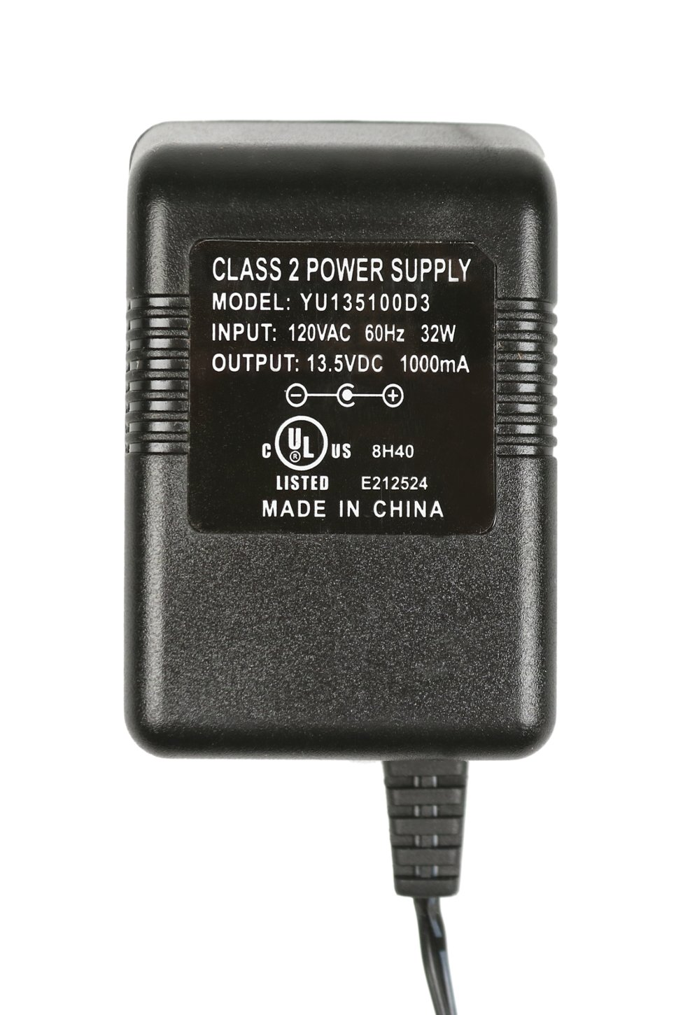 Power AC Adaptor for UHF-3025 and UHF-5805