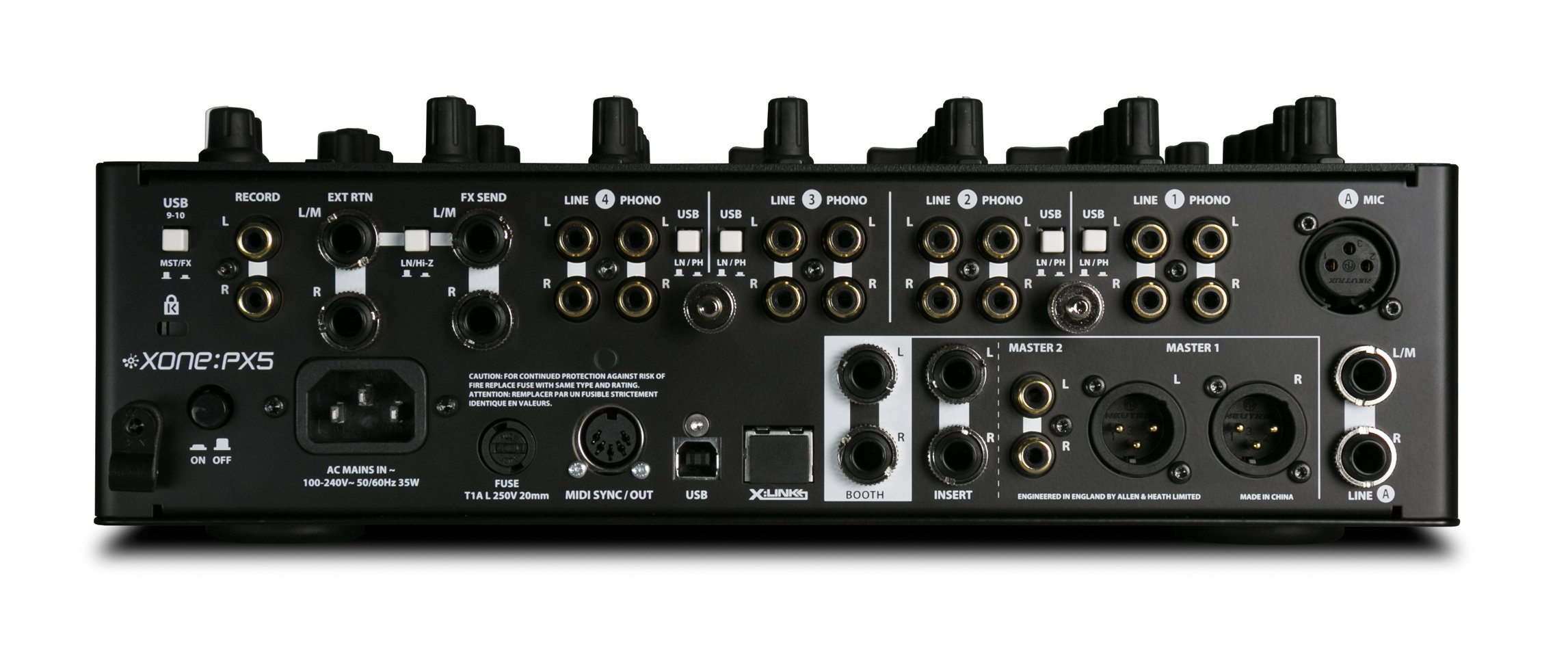 4 Channel DJ Performance Mixer