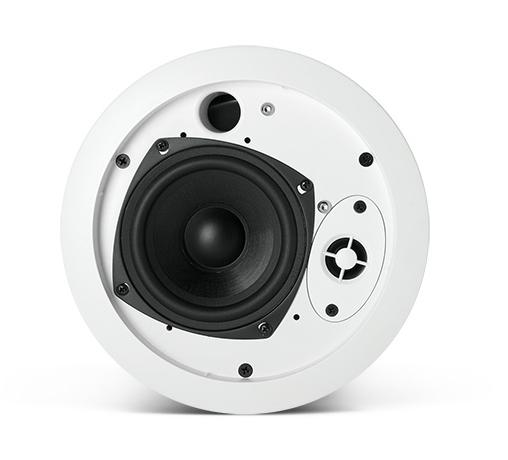 """4"""" Ceiling Speaker with 70V/100V Transformer in White"""