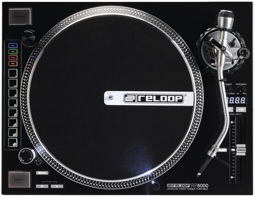 Reloop RP-8000-B3 [RETURN/REFURB RESTOCK MODEL] MIDI Compatible Hybrid Torque Turntable RP-8000-B3