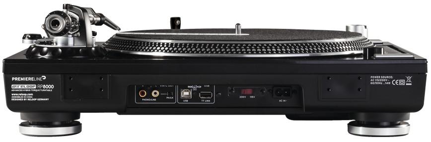 MIDI Compatible Hybrid Torque Turntable
