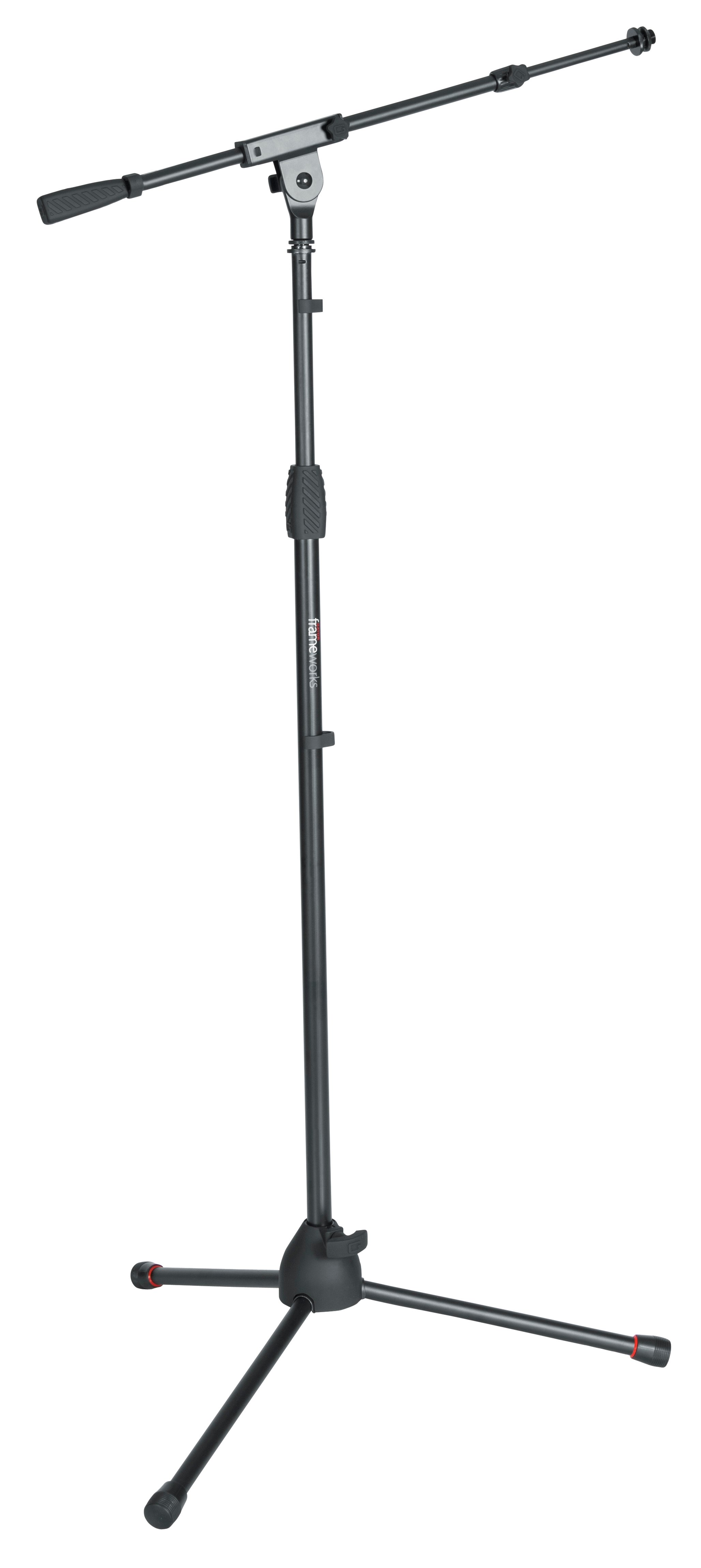 Frameworks Standard Tripod Microphone Stand with Telescoping Boom