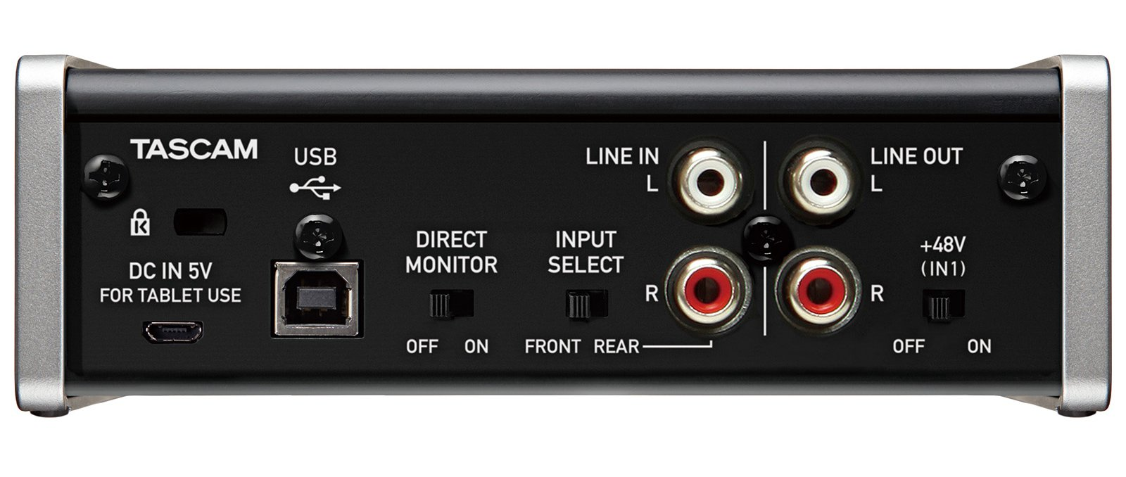 2 In - 2 Out USB Audio Interface