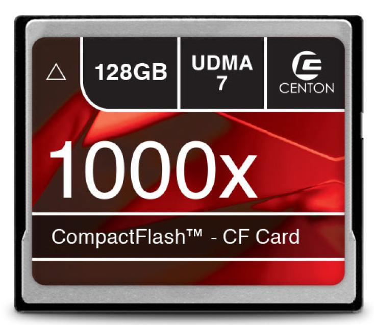 1000x 128GB Compact Flash Card