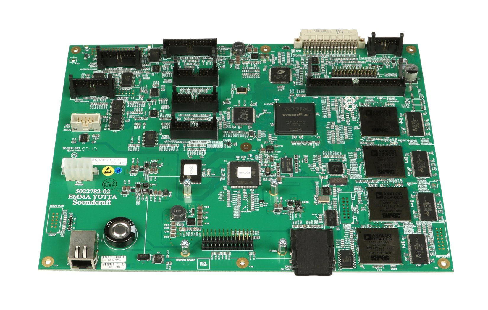 Si Expression Main PCB