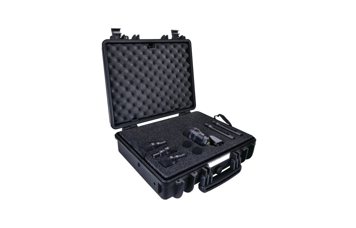 6-Piece Microphone Drum Package with Case