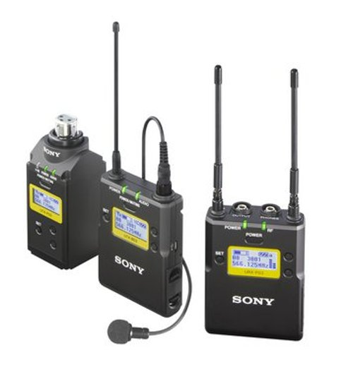 Portable Wireless Bodypack and Plug-on System in Channel 14