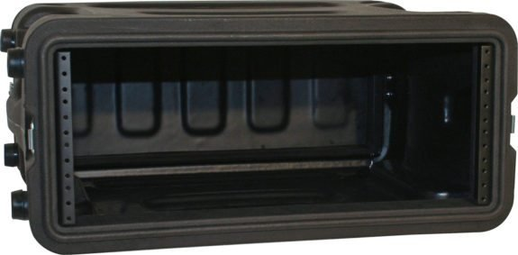 "2RU, 19"" Deep Molded Audio Rack"