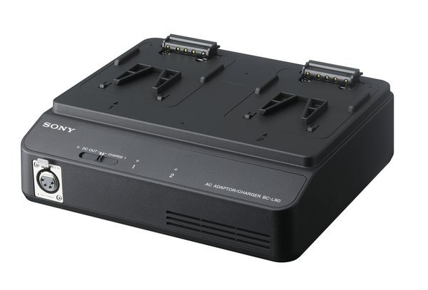Dual Position V-Mount Lithium-Ion Olivine Battery Charger & DC Power Supply