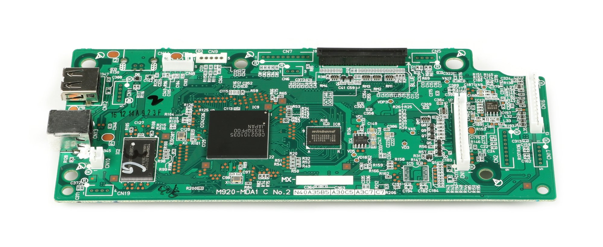 Casio 10434318  PX850 Main PCB Assembly 10434318