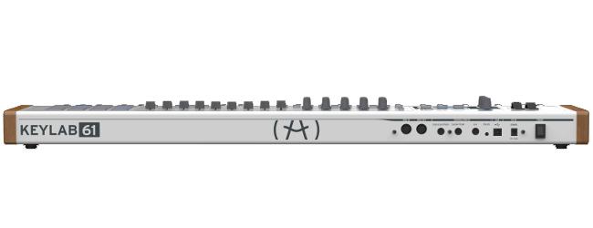 61-Key MIDI Controller, with Analog Synthesizer Emulation Software