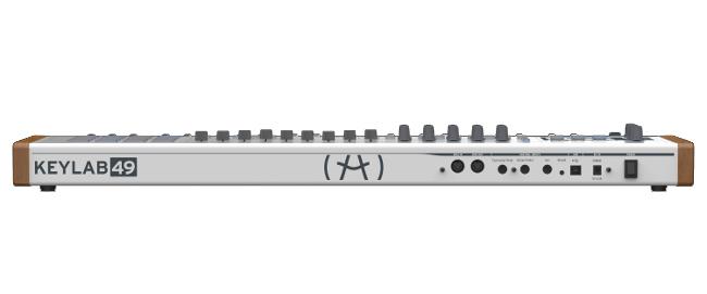 49-Key MIDI Controller, with Analog Synthesizer Emulation Software