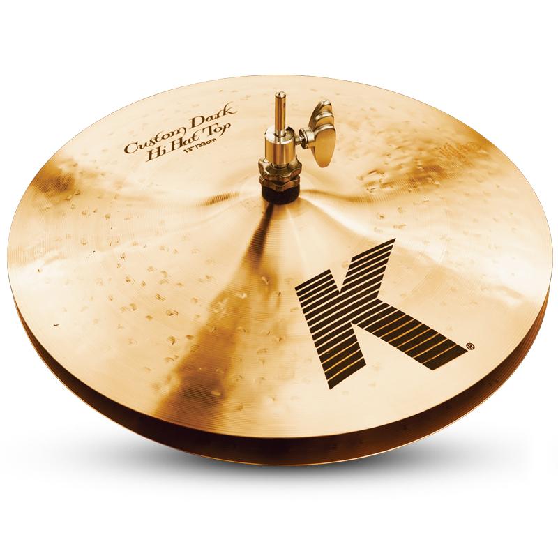 "Zildjian K0940 Pair of 13"" K Custom Dark Hi-Hats K0940"