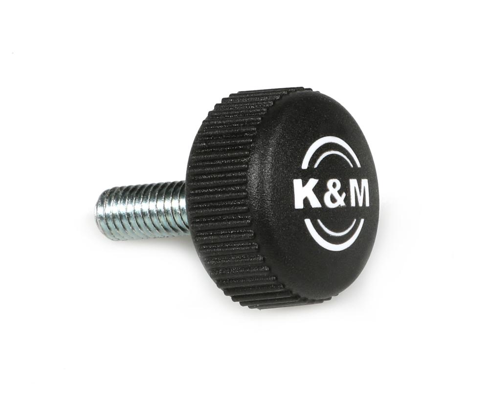 K&M Stands 01.82.838.55 KM210 Knurled Knob 01.82.838.55