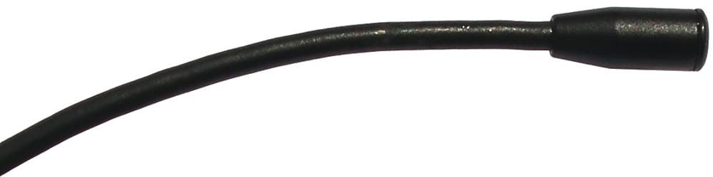 Lapel Microphone, 3mm HR4 Black