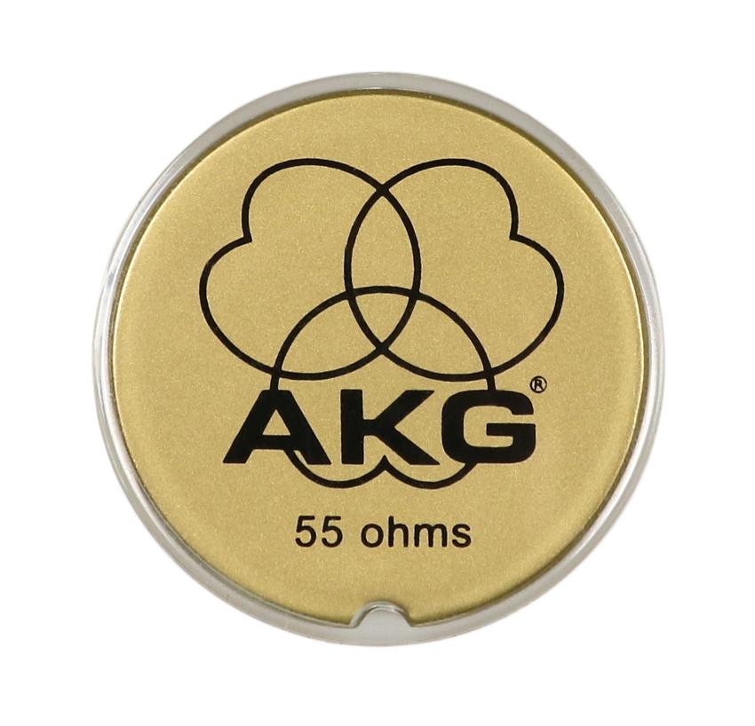 AKG 2058Z30030 K240 Gold Logo Plate 2058Z30030