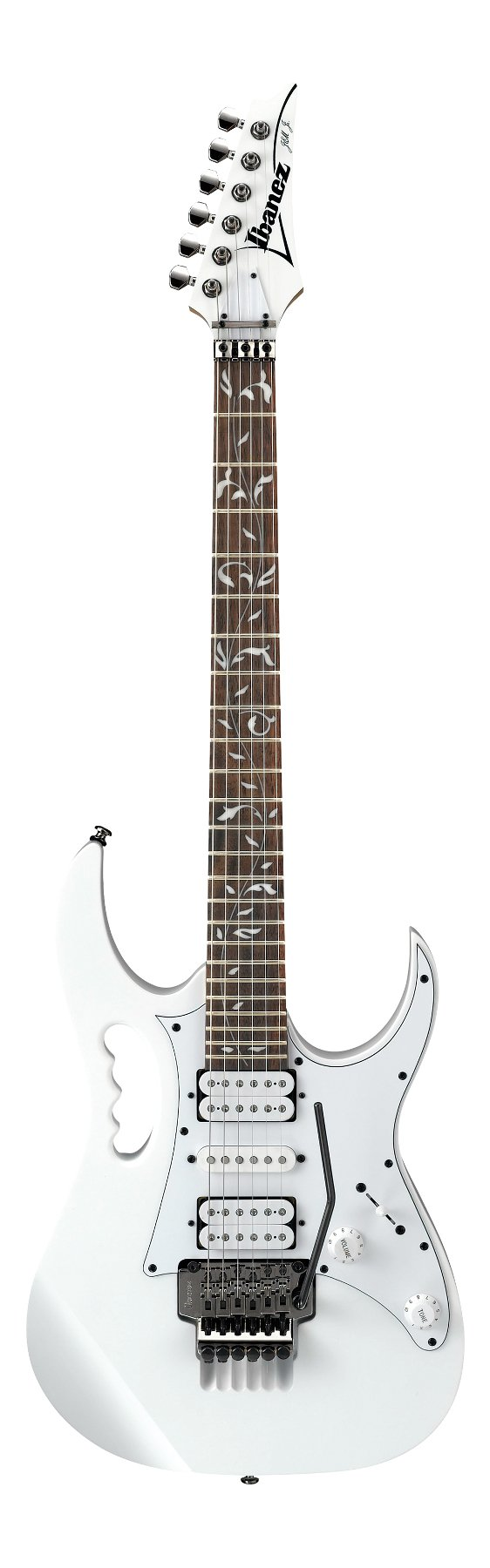 White Steve Vai Signature Series Electric Guitar
