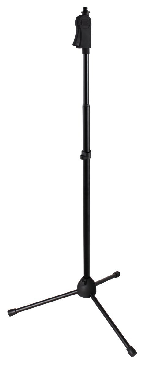 Frameworks Tripod Microphone Stand with One-Handed Clutch