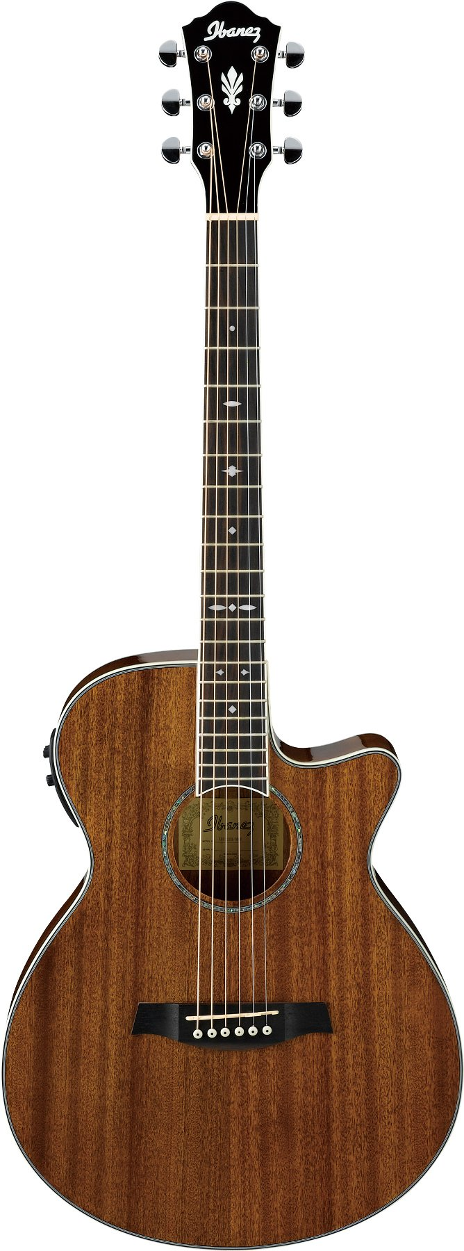 Natural High Gloss AEG Series Acoustic/Electric Guitar with AEQ-SP1 Electronics