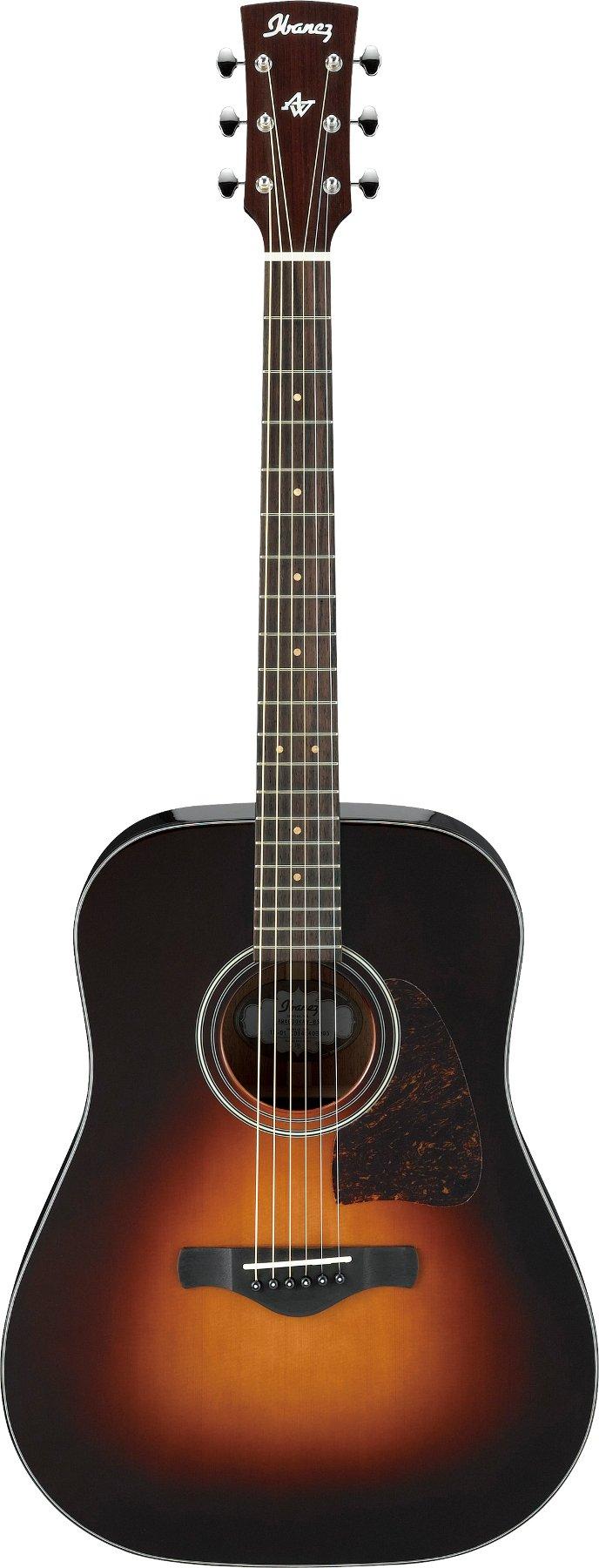 Brown Sunburst High Gloss Artwood Acoustic Guitar