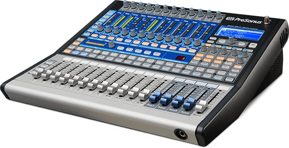presonus studiolive 1602 usb 16 channel performance and recording digital mixer usb interface. Black Bedroom Furniture Sets. Home Design Ideas