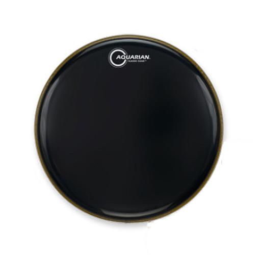 "14"" Classic Clear Gloss Black Drumhead"