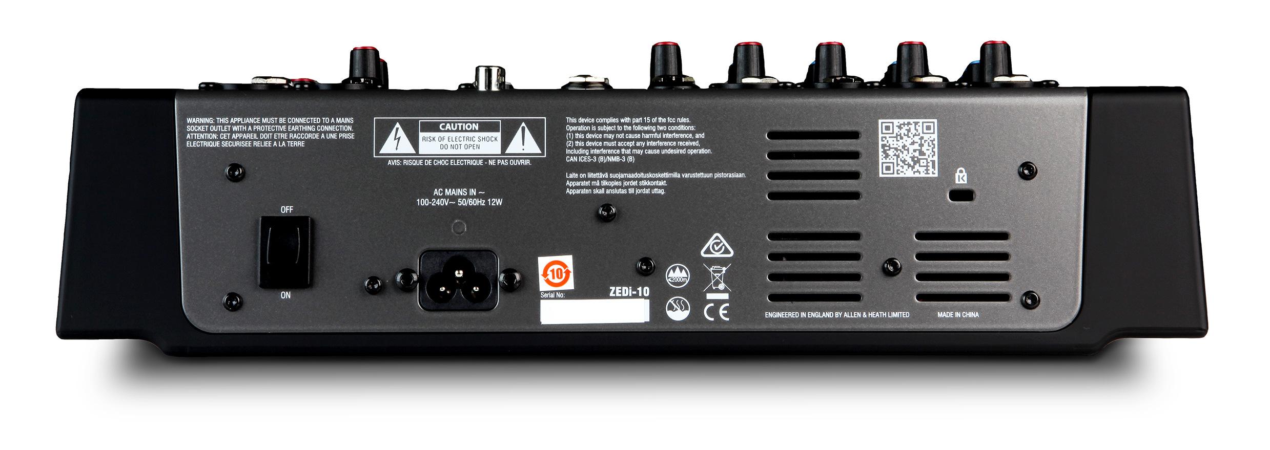 Hybrid Compact Mixer / 4×4 USB Interface