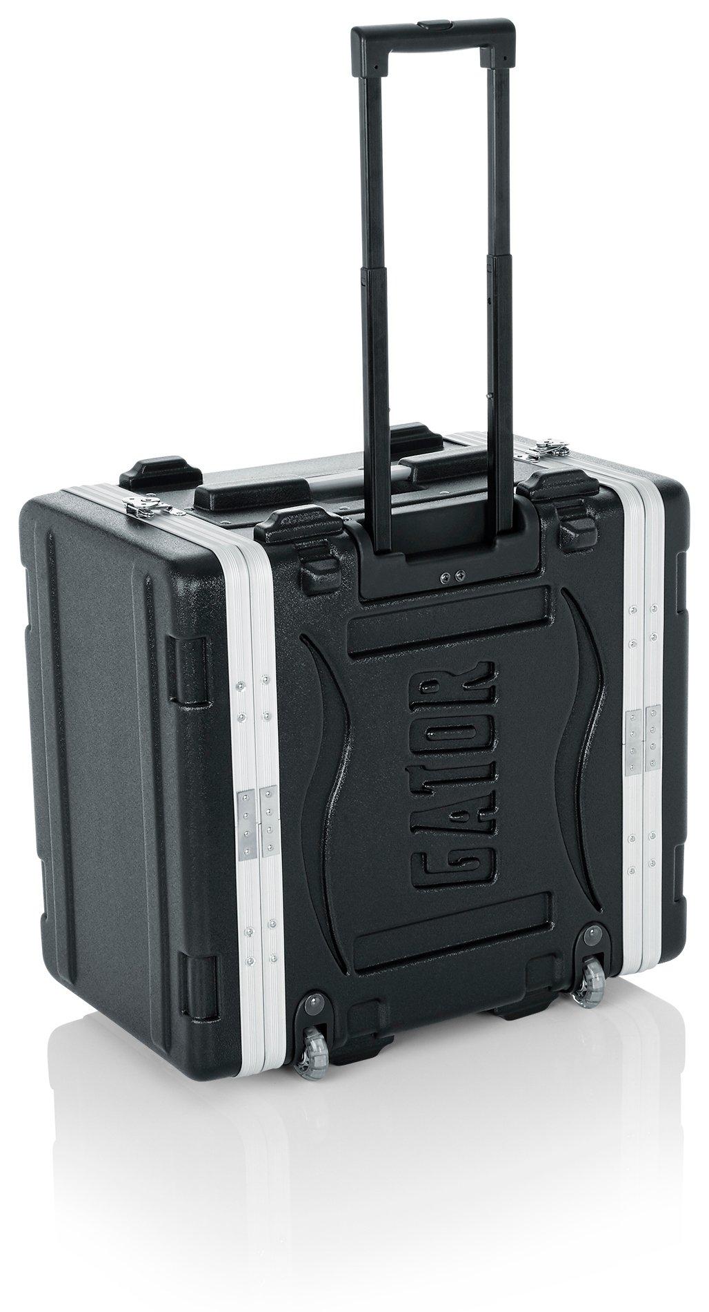 6RU Lockable Rack Case (with Wheels)