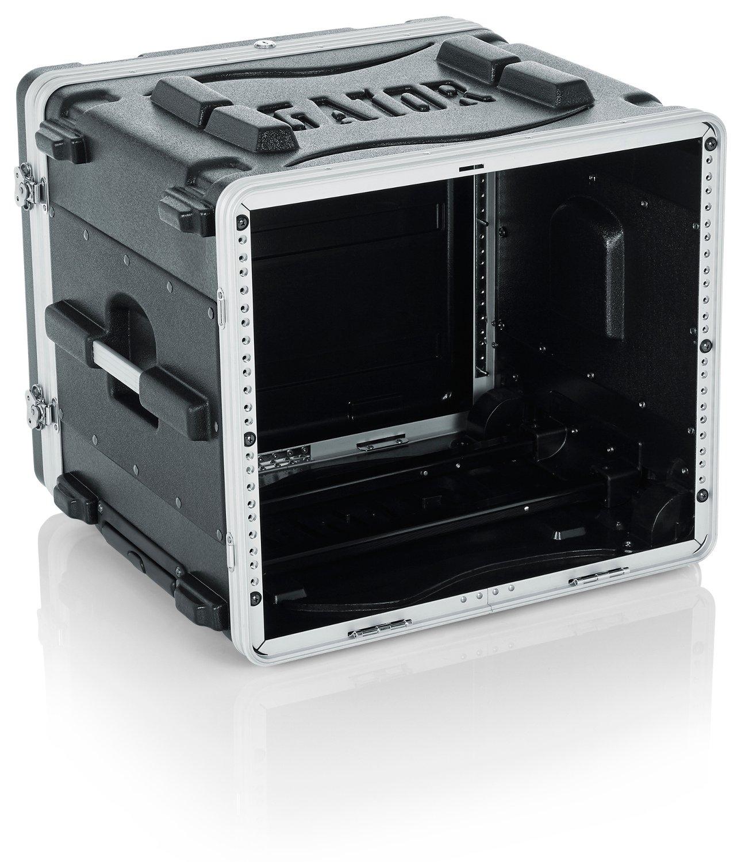 8RU Lockable Rack Case (with Wheels)