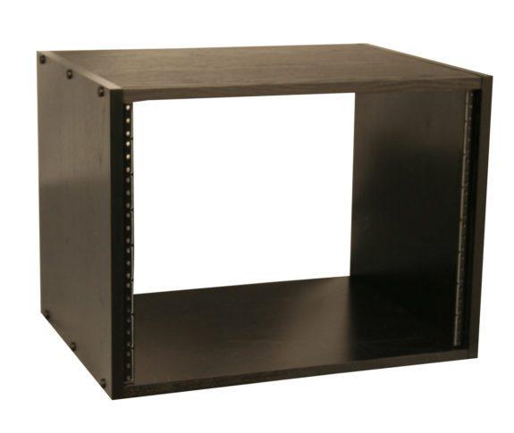 8RU Studio Rack Cabinet, Black