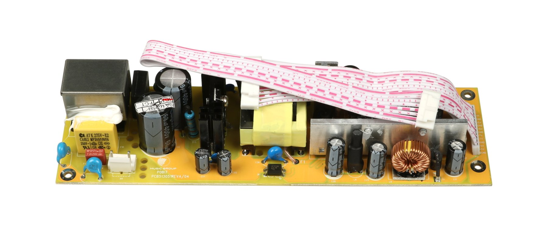 Behringer Q05-BI704-00101  Power Supply PCB for XR12 Q05-BI704-00101