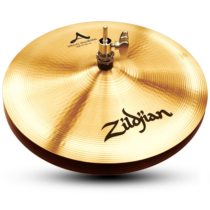 "Pair of 12"" A Zildjian Special Recording Hi-Hats"