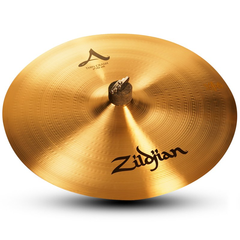 "17"" A Zildjian Thin Crash Cymbal"