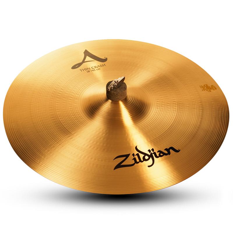 """18"""" A Zildjian Thin Crash Cymbal"""