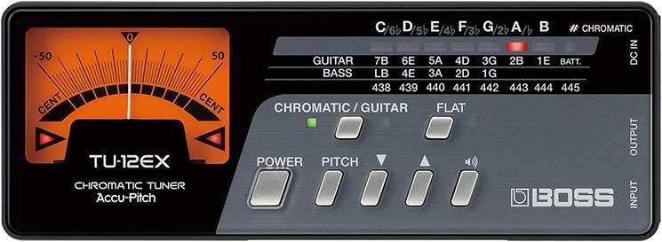 Chromatic Tuner for Guitar & Bass