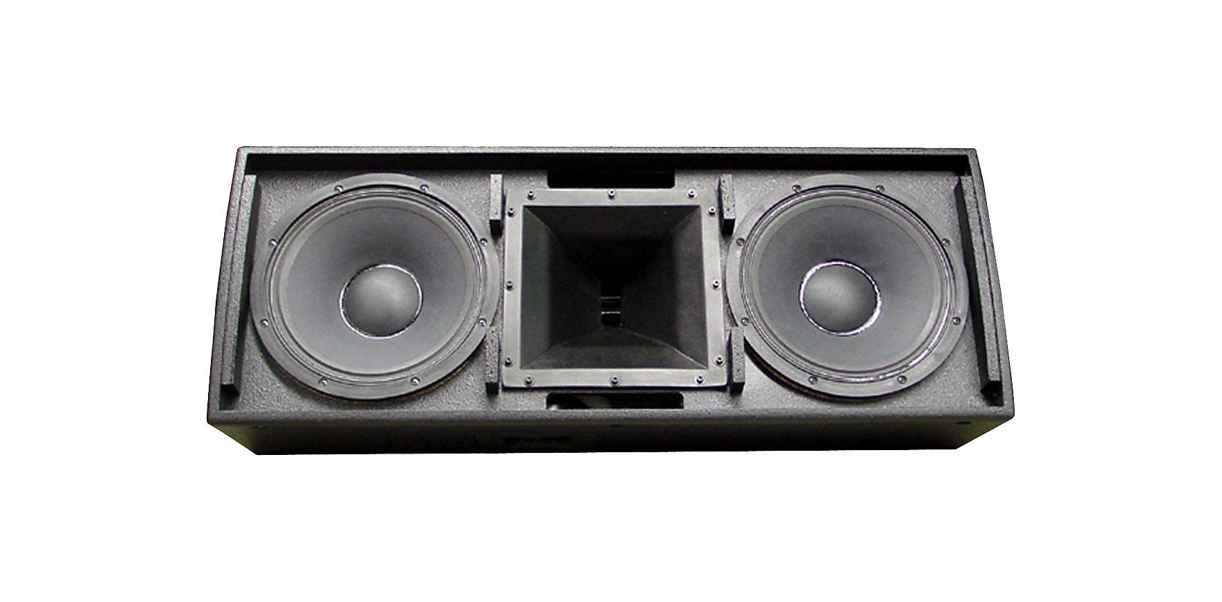 "Dual 12"" 2-Way Full-Range Speaker, 600 W, Black"