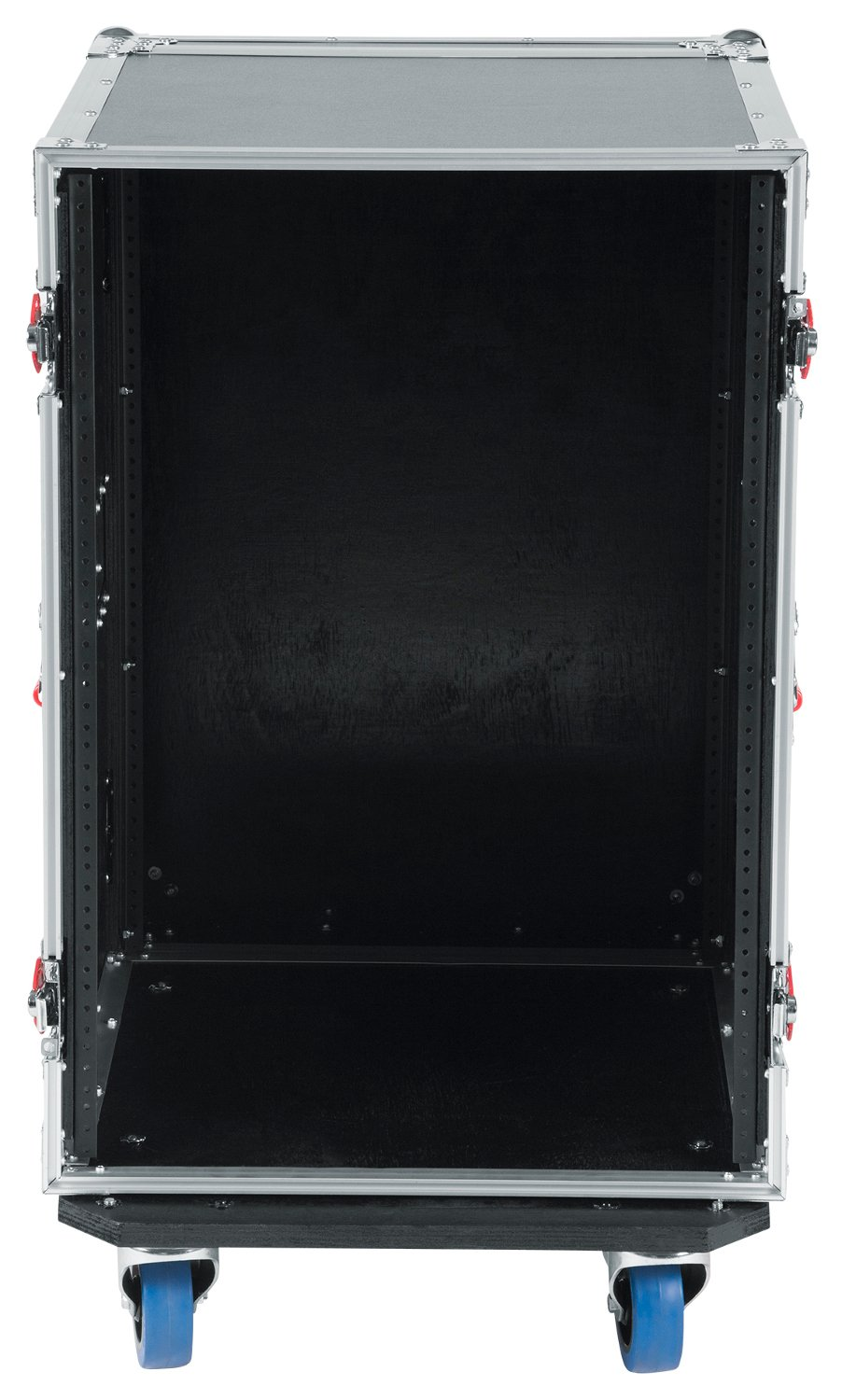 16RU ATA Style Rack Case with Locking Caster Board