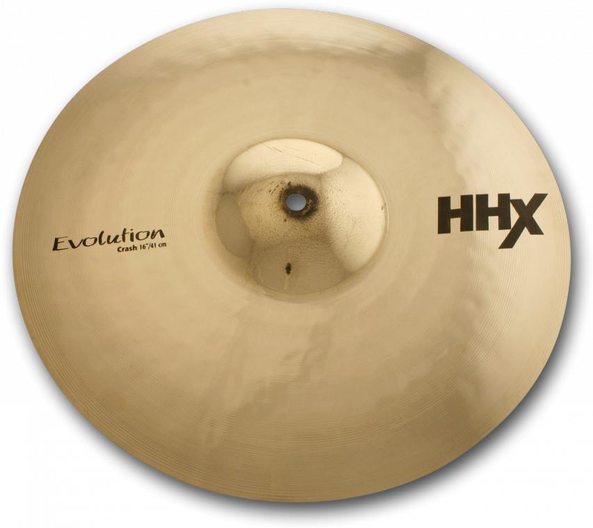 "Sabian 11606XEB 16"" HHX Evolution Crash Cymbal in Brilliant Finish 11606XEB"
