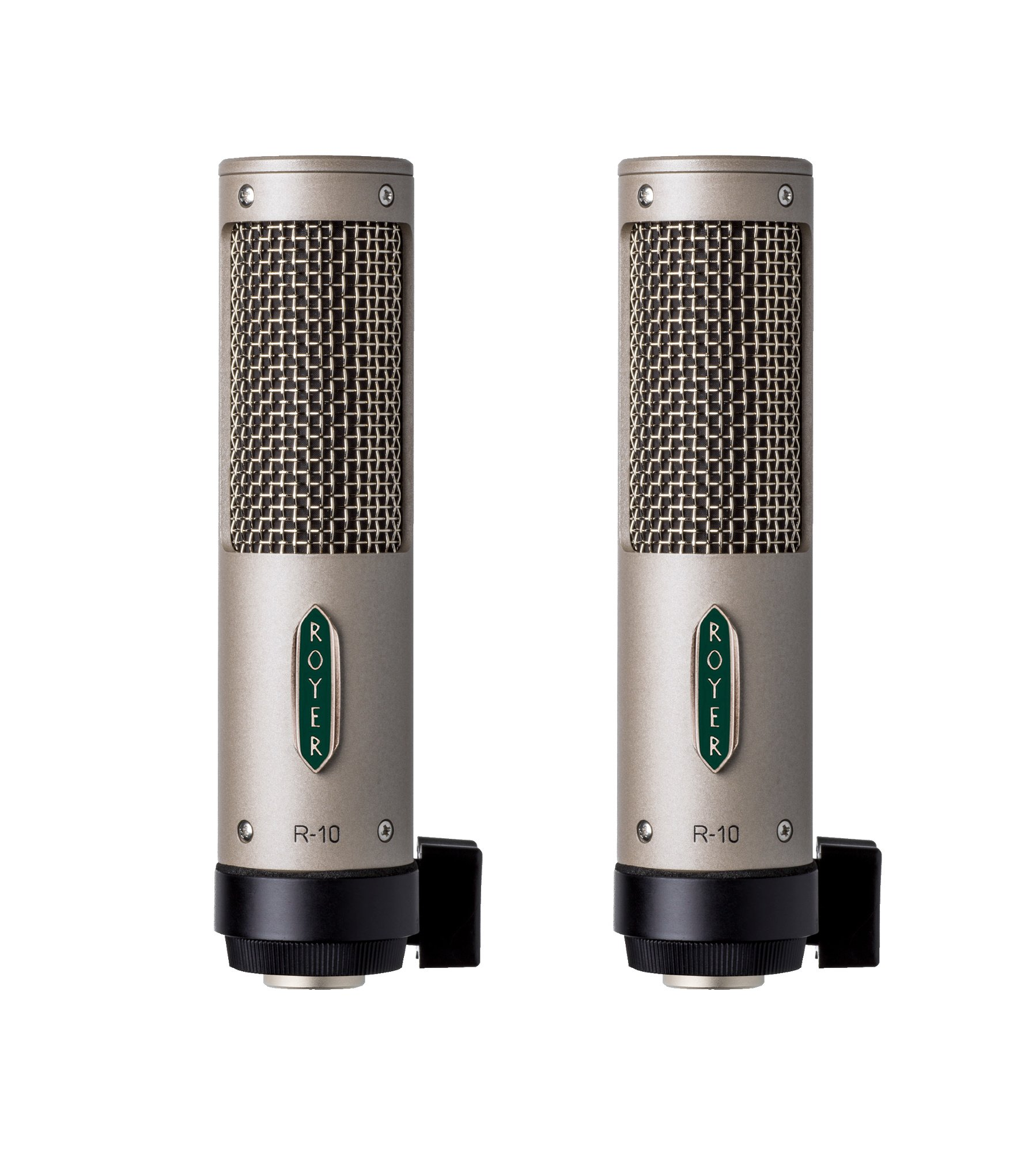 Matched Pair Package of Passive Ribbon Microphones